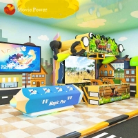 Buy cheap Theme Park Equipment Children Interactive Projection System Painting Games from wholesalers