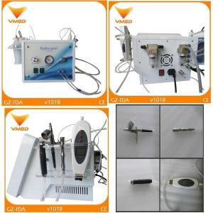 Wholesale Portable Ultrasonic Oxygen Spray diamond dermabrasion Hydrafacial Skin Care Machine from china suppliers