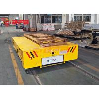 Buy cheap China customized yellow motorized cart moving on rails,BEFANBY electric battery powered industry vehicles from wholesalers