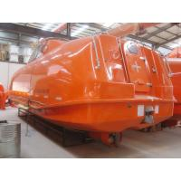 Buy cheap 2017 MED  Certificate FRP 120 Persons Totally enclosed lifeboat and rescue boat manufacturers CHINESE COMPANY from wholesalers