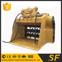 Buy cheap Quality factory supplied Construction spare parts of excavator crusher bucket fit for JCB240 from wholesalers
