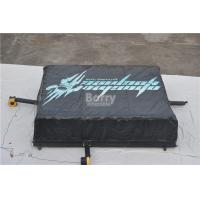 Buy cheap Black Inflatable Jump Air Bag For Skiing , Inflatable Jumping Pad Size 5.1x6.1x1.4M from wholesalers