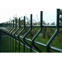 Buy cheap Cheap Price High Quality PVC Coated 1.83m Height Curved Welded Wire Mesh Fencing from wholesalers