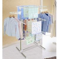 Buy cheap 3 Tier Foldable Clothes Rack Dryer Hanger NG-300W1 with Wheel from wholesalers