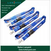 Buy cheap Cheap Wholesale Custom Logo Neck Strap Polyester Woven Nylon Printing Sublimatio product