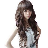 Long Dark Brown Sexy Wave Wig Manufactures