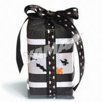 Buy cheap Black Halloween Ribbon, 3/8 Inches Wide and Perfect for Any Craft or Sewing Projects from wholesalers