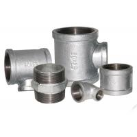 Buy cheap ISO 49 Standard Malleable Iron Threaded Fittings , Iron Water Pipe Fittings 1/8 - 6 from wholesalers