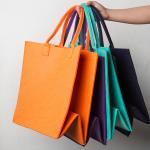 Buy cheap 300DPI Felt Tote Bag from wholesalers