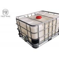 Buy cheap Steel Caged Tote Stackable Ibc Liquid Storage Containers Tanks 500L / 132Gallon LLDPE from wholesalers