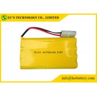 Wholesale Nickel Cadmium 9.6 Nicd Battery Pack / AA 700mah Rechargeable Batteries from china suppliers