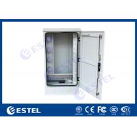 Buy cheap Outdoor Optical Cable Cross Connection Cabinet Cold Rolled Steel Wall / Floor Mounted from wholesalers