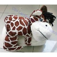 Buy cheap Cute Baby Coral Fleece Blankets-Giraffe from wholesalers