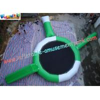 Buy cheap Inflatable water trampoline combo toys with durable 0.9MM PVC tarpaulin material for Kids from wholesalers