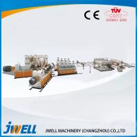 Buy cheap Jwell PVC semi- skining WPC Foam Board extrusion line from wholesalers