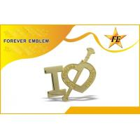 Buy cheap Stamped Bronze / Iron Custom Lapel Pins Plated For Kids from wholesalers