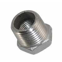 Buy cheap 1/2 Male X 1/4 Thread Reducer Bushing , SS304 NPT Female Reducer Bushing from wholesalers