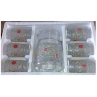 Buy cheap 7 PCS Custom Household Water Drinking Glasses Sets from wholesalers