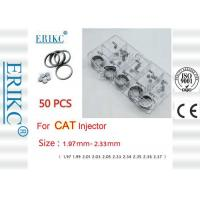 Wholesale ERIKC CAT common rail injector shims auto engine adjustment Needle Valve shims size 1.97-2.33 mm from china suppliers