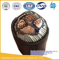 Buy cheap Hot Sale 4x185mm2 Cu/XLPE/SWA/ PVC Insulated Steel Wire Armoured Power Cable from wholesalers