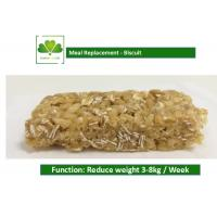 100% Natural Food Weight Loss Protein Bars Biscuit Cookie For Satiety