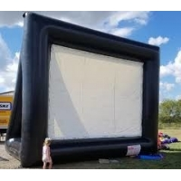 Wholesale Outdoor Theater Screen Inflatable Cinema Screen Portable Projection Screen from china suppliers