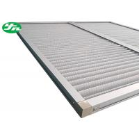 Buy cheap Aluminum Wire Mesh Industrial Air Filters , Dust Panel Pleated Media Filter HVAC from wholesalers