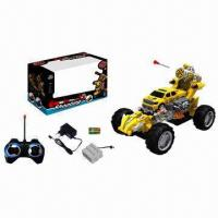 Buy cheap 8 Functions RC Shooting Car with Rechargeable Battery from wholesalers