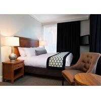 Wholesale Classic 3 Star Modern Hotel Bedroom Furniture / Budget Hotel Furniture from china suppliers