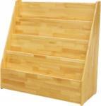 Buy cheap Natural Color Kindergarten School Furniture , Wooden Movable Bookshelf For Kids Room from wholesalers