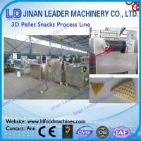 China Stainless steel 3d pellet snack manufacturing machine screw extruder on sale