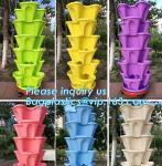 Buy cheap Home Decoration Black And Green Color Plastic Flower Pots,Biodegradable bamboo fibre flower pots,Desktop&Balcony decorat from wholesalers
