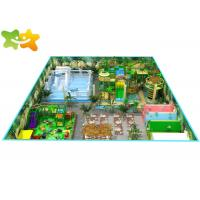 Buy cheap Commercial Jungle Theme Toddler Indoor Soft Play Playground Equipment Customized Size from wholesalers