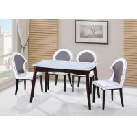 Buy cheap Granite Top 0.15 Square Walnut Bistro Set from wholesalers