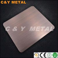 Buy cheap Hot sales LIC red-copper stainless steel sheets from wholesalers