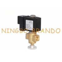Buy cheap Manually Adjustable Natural Coal Gas Brass Solenoid Valve For Boiler 1/4 24VDC 220VAC from wholesalers