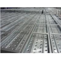 Buy cheap High Strength Galvanized Scaffolding steel planks with hook for sale from wholesalers
