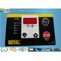 Buy cheap Matte Or Glossy Membrane Switch Overlay , PET 0.2 Mm Transparent Custom Graphic Overlay product