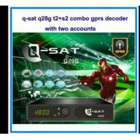Buy cheap 2015 newest qsat q28g dvb s2 and t2 combo gprs satellite receiver for africa dstv with 2 accounts stable servers from wholesalers