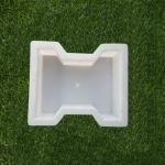 Buy cheap Hexagon 9 Inch Patio Stepping Plastic Paver Mould Plain Smooth from wholesalers