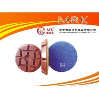 3 Inch Hard Diamond Marble / Granite Stone Polishing Pads 12.5mm Thick Manufactures