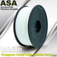 Wholesale White ASA Filament / Anti Ultraviolet 1.75mm Filament For 3D Printer from china suppliers