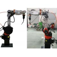 Buy cheap 6 Axis Industrial Aumomatic Arc Welding Robot with Off line Programming Technology from wholesalers