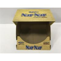 Buy cheap Collapsible Cardboard Display Boxes Matte Varnish , Mouth Open Display Boxes from wholesalers