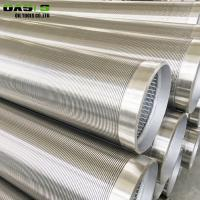 Wholesale Rigid Duplex 2205 Well Casing Screen , Continuous Slot Well Casing Wire Mesh Screen from china suppliers