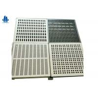 Buy cheap Air Flow Perforated Raised Floor Tiles For Computer And Server Rooms from wholesalers