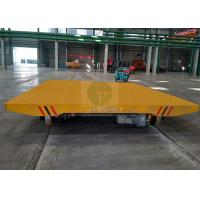 Buy cheap 40 t low voltage power DC motor variable speed cargo transfer cart on-rail from wholesalers