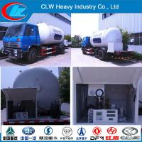 Buy cheap Dongfeng15000L LPG Gas Filling Tanker Truck (CLW9100) from wholesalers