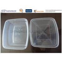 Buy cheap 650ml Large Packaging Plastic Food Containers kitchen , PP disposable box from wholesalers