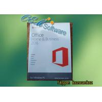 Buy cheap Genuine Office 2016 PKC 64 Bit DVD Pack , Office 2016 Home And Business Key Code from wholesalers